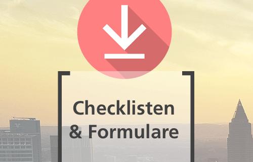 Checklisten und Formulare für Käufer oder Verkäufer von Immobilien, Mieter und Vermieter